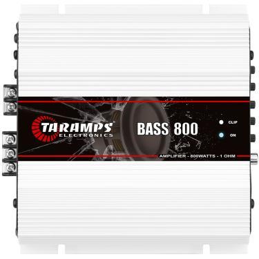 Módulo Taramps Bass 800 Amplificador Automotivo Módulo Taramps Bass 800 1 Ohm 800 w RMS Amplificador Automotivo