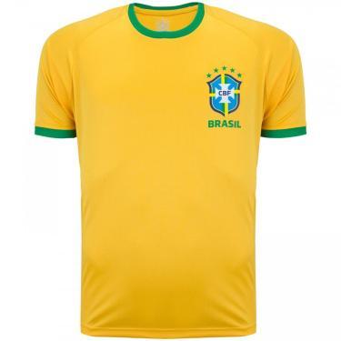 Imagem de Camiseta da Seleção Brasileira Fardamento - Masculina Cbf Masculino