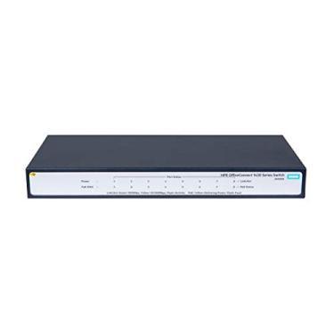 HPE OfficeConnect 1420 8 portas PoE Gigabit Ethernet não gerenciado Switch-8xGE. 8 portas PoE (64W) (JH330A #ABA)