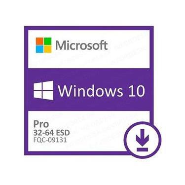 Licença Microsoft Windows 10 Pro 32/64 bits ESD - Download