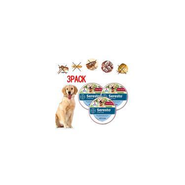 Imagem de 1/2/3PCS Bayer Seresto Grande Coleira de Cachorro (Pulga & Carrapato), 8 Meses