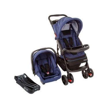 Imagem de Carrinho De Bebê Com Bebê Conforto Cosco - Travel System Moove 2.0 Tri