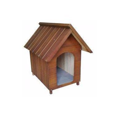 Casa Casinha Para Cães Cachorros Madeira Tamanho:grande