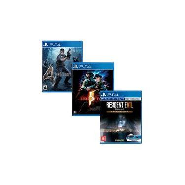 Resident Evil 4 + Resident Evil 5 + Resident Evil 7 Gold Edition - PS4