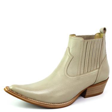 Bota Top Franca Shoes Country Cinza  masculino