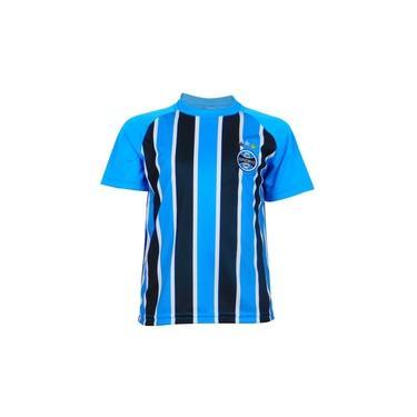 Camisa Grêmio Dry Tricolor Licenciada Infantil