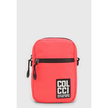 Bolsa Colcci Fitness Crossbody Etiqueta Coral Colcci Fitness 090.57.00043 feminino