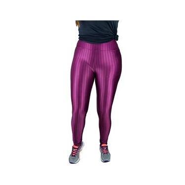 Imagem de Calça Legging Borzzi Wear em Poliamida 3D Cos Alto