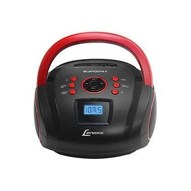 5d2360482 Som Portátil Lenoxx Boombox Bd110 Com Usb Rádio Fm Mp3 Micro Sd