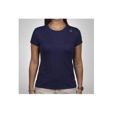 1e058ae47 Pechinchas-33% Camiseta Mantle Poliamida Azul Marinho Feminina com Proteção  UV