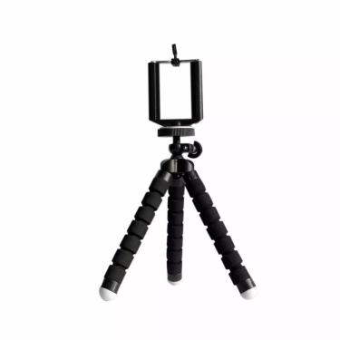 Suporte tripé para celular com base flexível