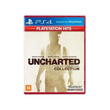 Jogo PS4 - Uncharted - The Nathan Drake Collection - PlayStation Hits