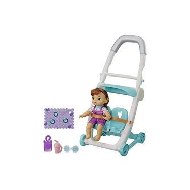 Imagem de Boneca Baby Alive Littles com Carrinho de Bebê Morena Hasbro E6703