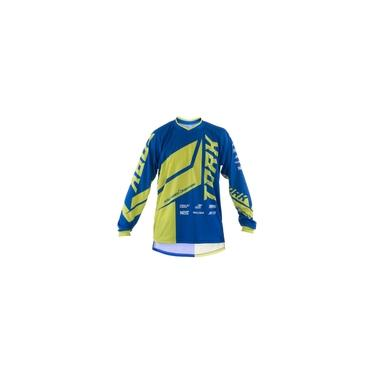 Camisa Motocross Pro Tork Factory Edition Azul - Amarelo P
