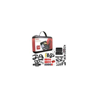 Imagem de Kit Acessórios Gopro Hero 5 2 3 3+ 4 Edition Silver Black