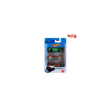 Imagem de Carrinho Hot Wheels Kit 3 Unidades Sortidos sem Repetidos Matel Brinquedo Miniatura Ferro Original