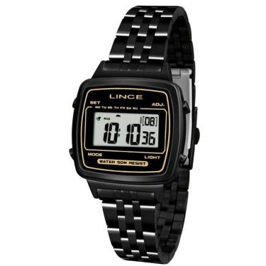 ea66d2484cc Relógio Feminino Lince Retrô Sdph068l Bxpx - Preto
