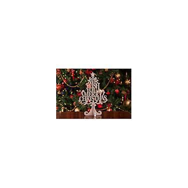 Árvore de Mesa  Merry Christmas  - Christmas Traditions