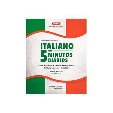 Italiano em 5 Minutos Diários - Capa Comum - 9788580631234
