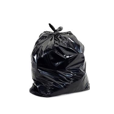 Kit com 100 sacos de lixo preto com capacidade de 40 litros