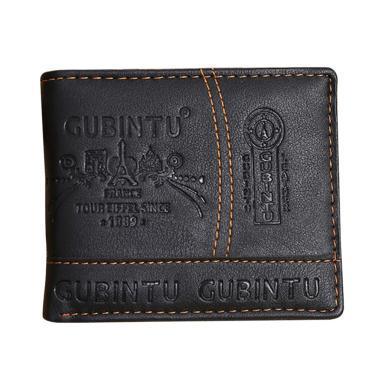 Carteira Masculina Couro De Legítimo Gubintu Cartão Crédito
