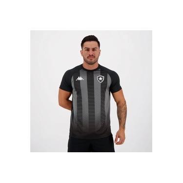 Camisa Kappa Botafogo Supporter Preta