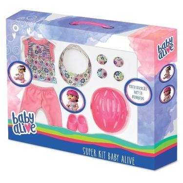 Super Kit Esportivo completo Baby Alive  Laço de Fita