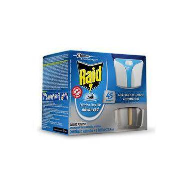 Repelente Raid Eletrico Liquido Advanced 45 Noites Automatic