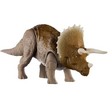 Figura Jurassic World Ruge e Ataca Triceratops - Mattel
