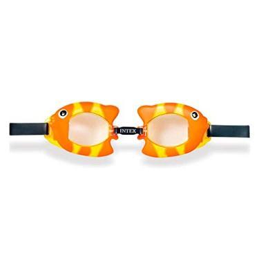 Óculos de Natação Play Bichinhos Animados Peixinho - Intex