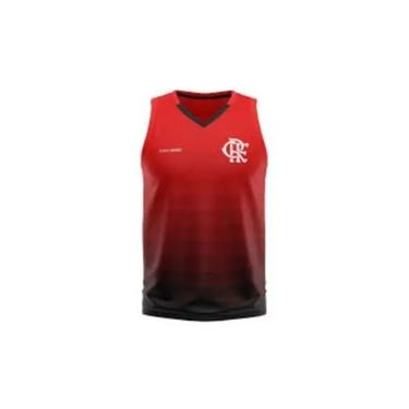 Regata Flamengo Braziline Forget Masculina - Vermelha