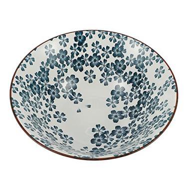 FRCOLOR Japonês Ramen Bowls Grande Cerâmica Ramen Japonês Servindo Salada Tigela de Sopa Tigela de Macarrão Tigela de Sopa de Macarrão Soba Udon Macarrão Pho 8 Polegadas