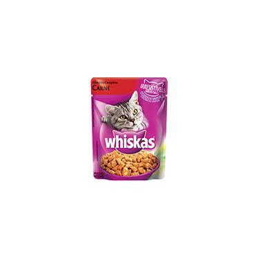 Ração Cat Sachê Carne 85g - Whiskas