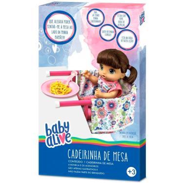 65d5803699 Cadeirinha de Mesa Baby Alive 10002 - Hasbro