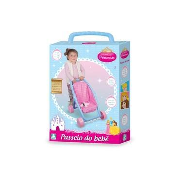 Imagem de Brinquedo Carrinho De Passeio Do Bebe Princesas - Nig