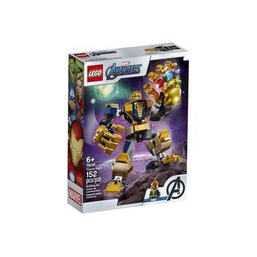 Lego Marvel Super Heroes Robo Do Thanos Com 152 Peças 76141