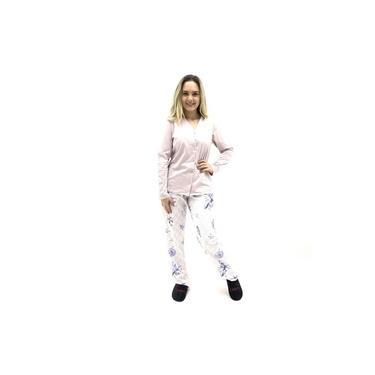 Pijama Recco Aberto Malha Feminino