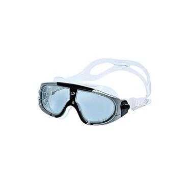 Imagem de Oculos Natação Extreme Triathlon Hammerhead Unissex Fume/Preto-Transparente