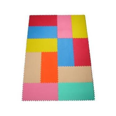 Imagem de Tapete Educativo Mingone Brinque Cores 121 - 12 peças