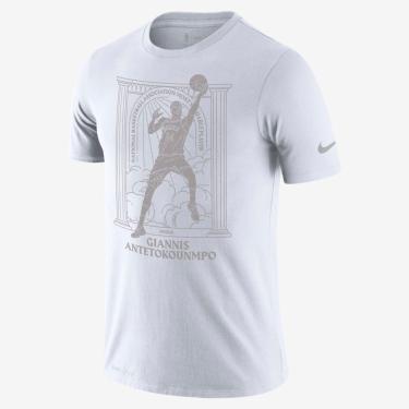 Camiseta Nike Giannis Antetokounmpo Bucks MVP Masculina