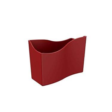 Imagem de Porta-guardanapo Cozy Pequeno, 13,7 x 6 x 10 cm, Vermelho Bold, Coza