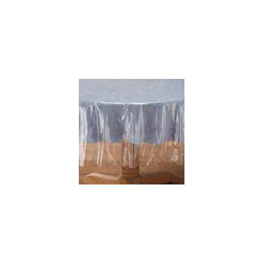 Imagem de Toalha De Mesa Plástico Transparente Redonda 1,70 Diametro