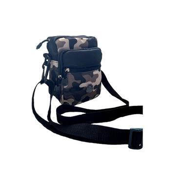 Bolsa Shoulder Bag Transversal Moda Masculina Motoboy