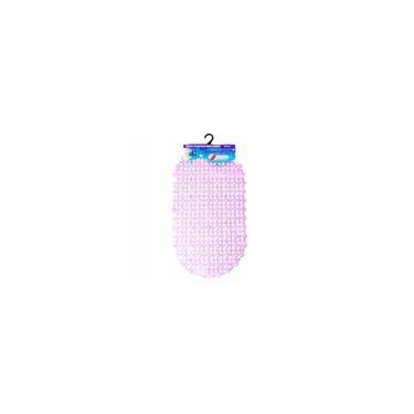 Imagem de Kit 5 Tapetes Para Box Banheiro Antiderrapante Roxo 123Util
