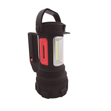 Lanterna LED ALFA Preta BRASFORT, Brasfort, LED ALFA, Preto