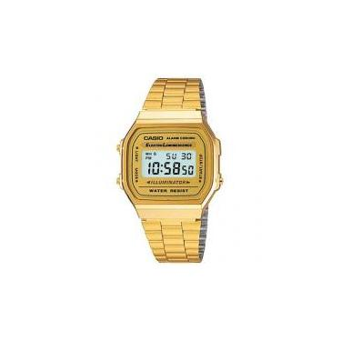 ae73c175769 Relógio Masculino Casio Digital Mundial - A-168WG-9WDF