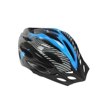 Capacete Ciclista Tamanho M 56-58 High One Azul Com Cinza