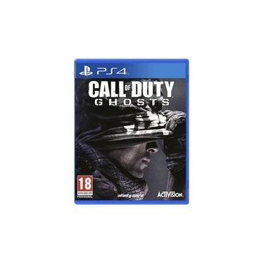 Game Call of Duty Ghosts - PS4 - versão em inglês