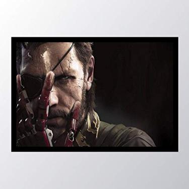 Quadro com moldura Metal Gear Solid V The_008