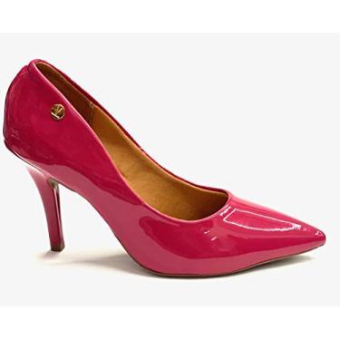 Sapato Scarpin Feminino Vizzano (36, cereja)